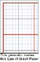 Graph paper for book folding patterns