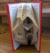 Folded Book Art House