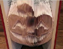 Book folding pattern Pumpkin
